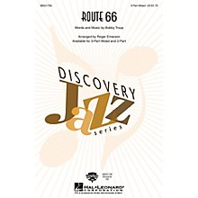 Hal Leonard Route 66 3-Part Mixed arranged by Roger Emerson