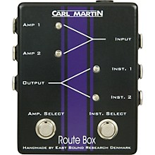 Open Box Carl Martin Route Box Double A/B Footswitch