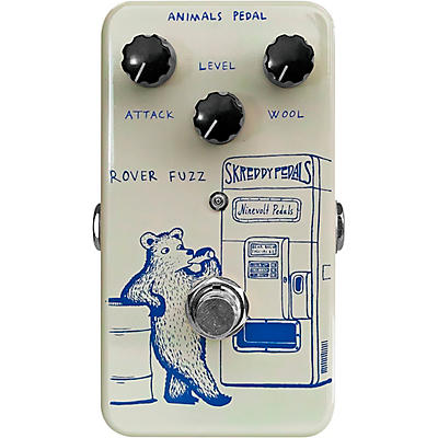 Animals Pedal Rover Fuzz Effects Pedal