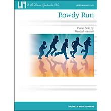 Willis Music Rowdy Run - Later Elementary Piano Solo Sheet
