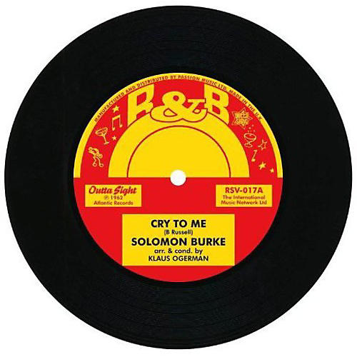 Alliance Roy Hamilton - Cry to Me/Earthquake