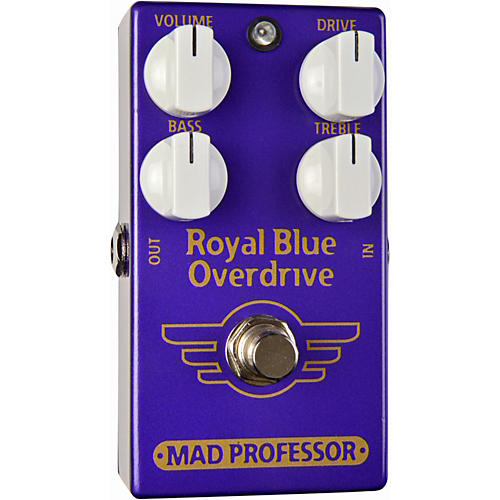 Mad Professor Royal Blue Overdrive Guitar Effects Pedal