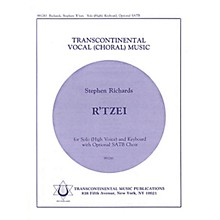 Transcontinental Music R'tzei (High) SATB composed by Stephen Richards