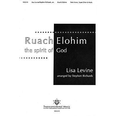Transcontinental Music Ruach Elohim (The Spirit of God) 2-Part arranged by Stephen Richards