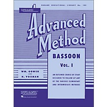 Hal Leonard Rubank Advanced Method for Bassoon Volume 1