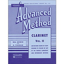Hal Leonard Rubank Advanced Method for Clarinet Volume 2
