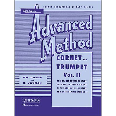 Hal Leonard Rubank Advanced Method for Coronet Or Trumpet Volume 2
