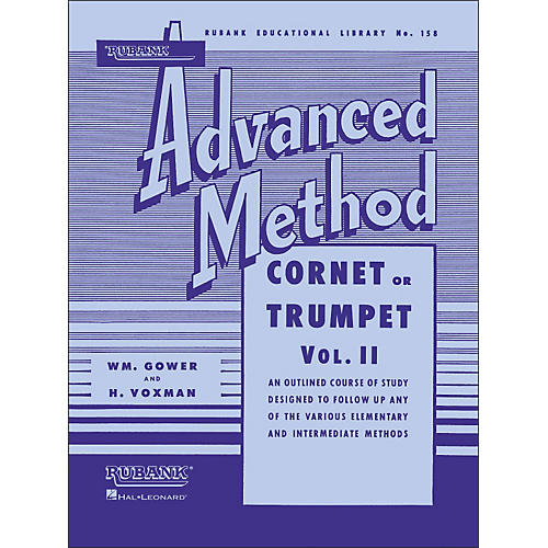 Hal Leonard Rubank Advanced Method for Coronet Or Trumpet Volume 2