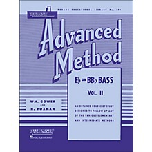 Hal Leonard Rubank Advanced Method for E Flat Or BB-Flat Bass Volume 2