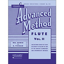 Hal Leonard Rubank Advanced Method for Flute Volume 2