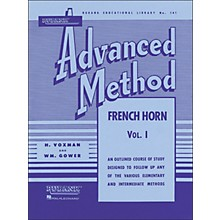 Hal Leonard Rubank Advanced Method for French Horn Volume 1