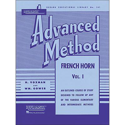 Hal Leonard Rubank Advanced Method for French Horn Volume 1