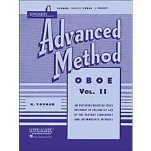 Hal Leonard Rubank Advanced Method for Oboe Volume 2