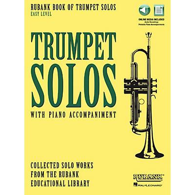 Hal Leonard Rubank Book of Trumpet Solos - Easy Level Book/Audio Online
