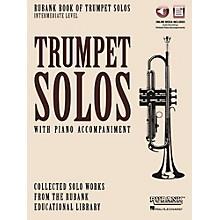 Hal Leonard Rubank Book of Trumpet Solos - Intermediate Level Book/Audio Online