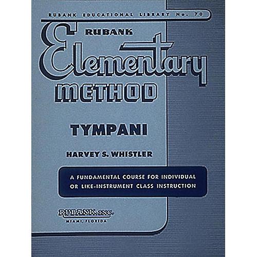 Hal Leonard Rubank Elementary Method - Timpani