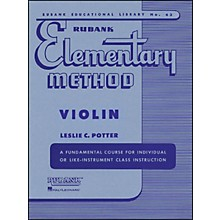 Hal Leonard Rubank Elementary Method Violin