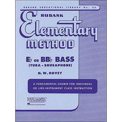 Hal Leonard Rubank Elementary Methods - Eb/BBb Bass