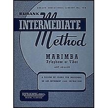 Hal Leonard Rubank Intermediate Method - Marimba/Xylo- Phone Or Vibes