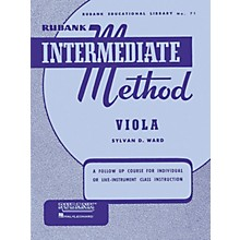 Hal Leonard Rubank Intermediate Method - Viola