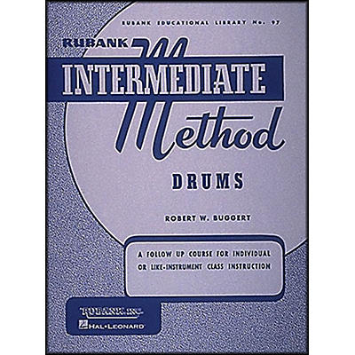 Hal Leonard Rubank Intermediate Method Drums