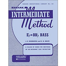Hal Leonard Rubank Intermediate Method E Flat Or Bb Flat Bass