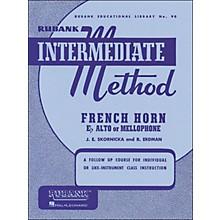 Hal Leonard Rubank Intermediate Method French Horn F Or E Flat