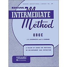 Hal Leonard Rubank Intermediate Method Oboe
