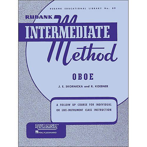 Hal Leonard Rubank Intermediate Method Oboe