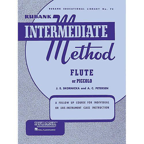 Hal Leonard Rubank Intermediate Method for Flute or Piccolo