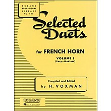 Hal Leonard Rubank Selected Duets French Horn Vol 1 Easy/Medium