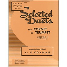 Hal Leonard Rubank Selected Duets for Cornet Or Trumpet Vol 2