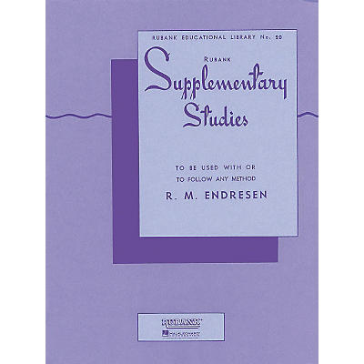 Hal Leonard Rubank Supplementary Studies for E Flat Or BB-Flat Bass