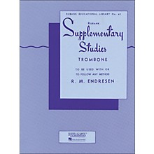 Hal Leonard Rubank Supplementary Studies for Trombone
