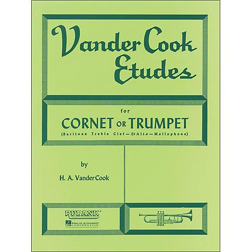 Hal Leonard Rubank Vandercook Etudes for Cornet Or Trumpet