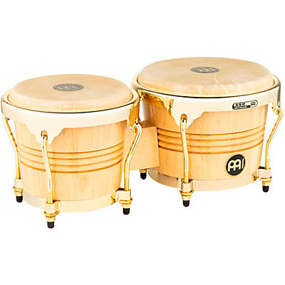 Meinl Rubber Wood Bongos with Gold Tone Hardware