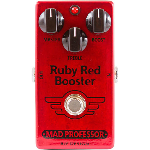 Mad Professor Ruby Red Booster Effects Pedal Condition 1 - Mint