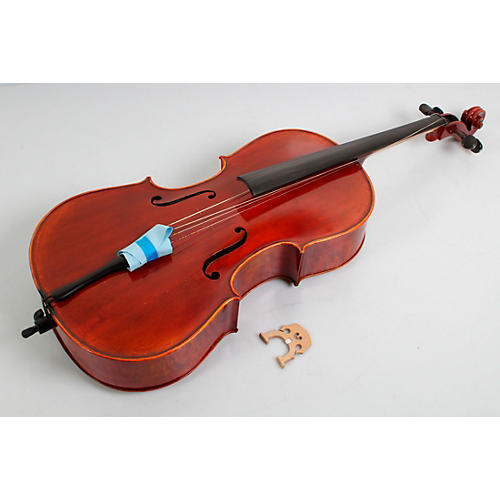 Maple Leaf Strings Ruby Stradivarius Craftsman Collection Cello Condition 3 - Scratch and Dent 4/4 Size 194744028809