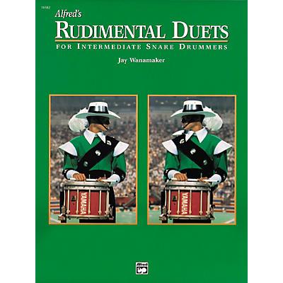 Alfred Rudimental Duets For Intermediate Snare Drummers Book
