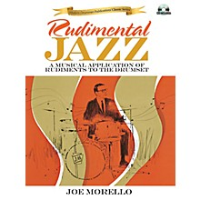 Modern Drummer Rudimental Jazz Book Series Softcover with CD Written by Joe Morello