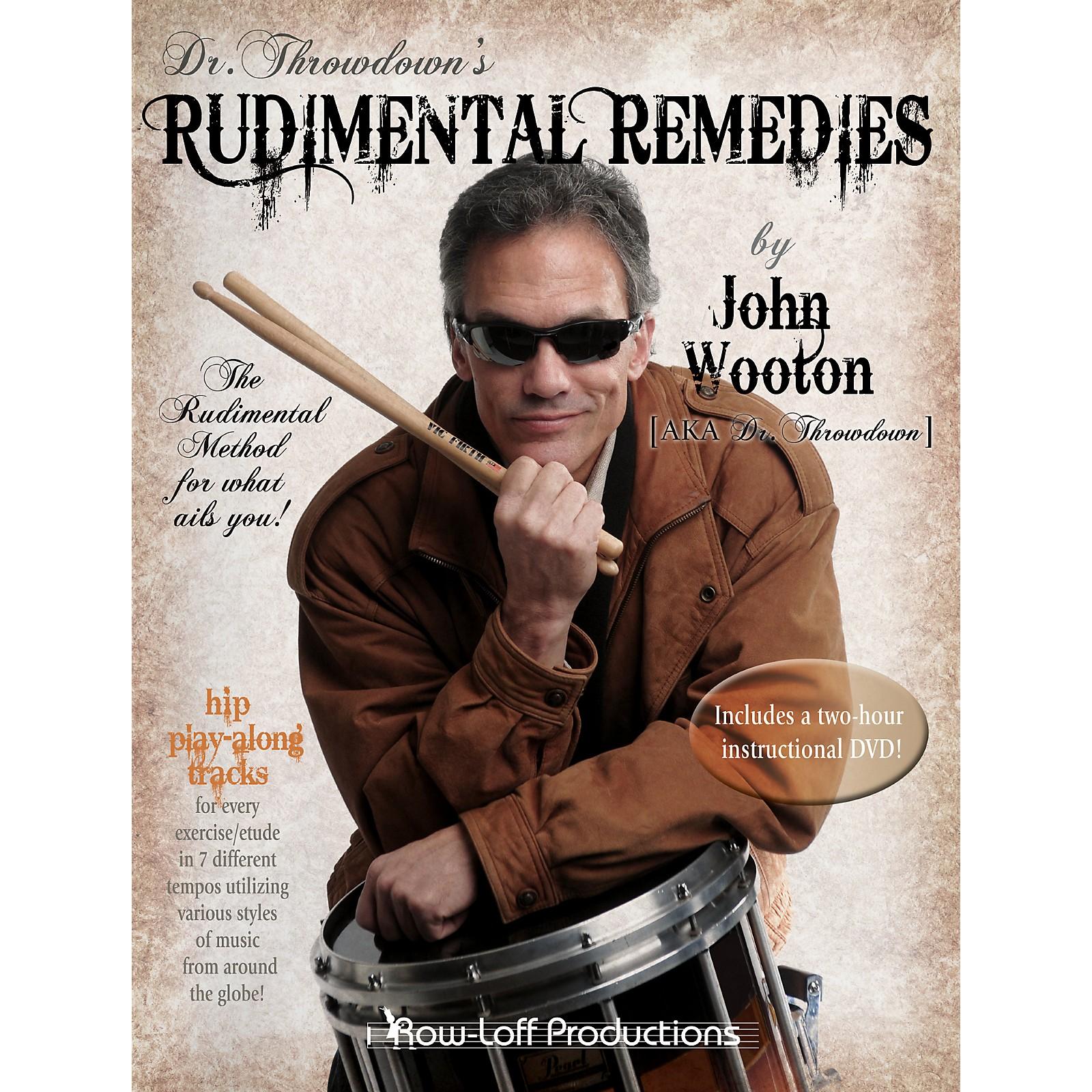 Row-Loff Rudimental Remedies Book