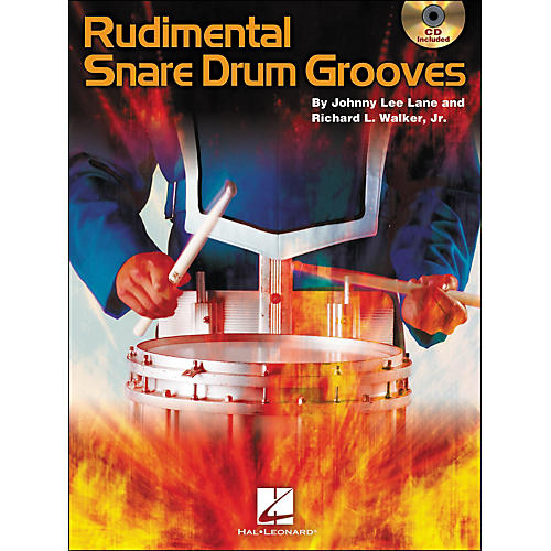 Hal Leonard Rudimental Snare Drum Grooves Book/CD