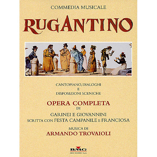 Ricordi Rugantino - A Musical Comedy (Vocal Score) Score Composed by Armando Trovaioli