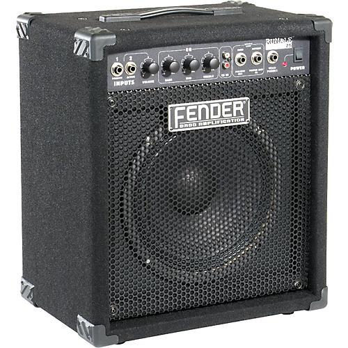 fender rumble 25 bass combo amplifier musician 39 s friend. Black Bedroom Furniture Sets. Home Design Ideas