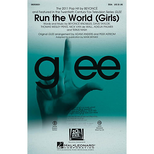 Hal Leonard Run the World (Girls) SSA by Beyonce arranged by Mark Brymer