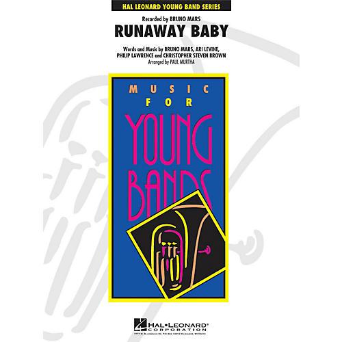 Hal Leonard Runaway Baby - Young Concert Band Series Level 3