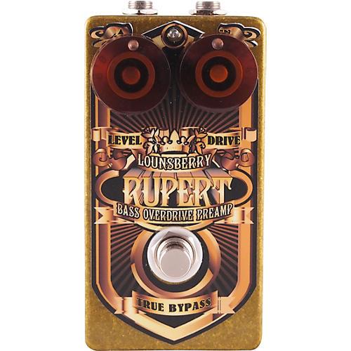 Lounsberry Pedals Rupert Bass Overdrive Effects Pedal