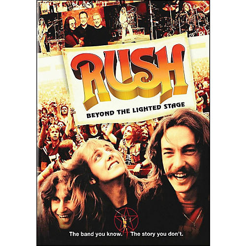 Hal Leonard Rush - Beyond The Lighted Stage Blu Ray DVD