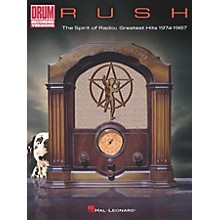 Hal Leonard Rush - The Spirit of Radio: Greatest Hits 1974-1987 Drum Transcriptions book
