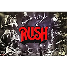 Trends International Rush - Through The Years Poster